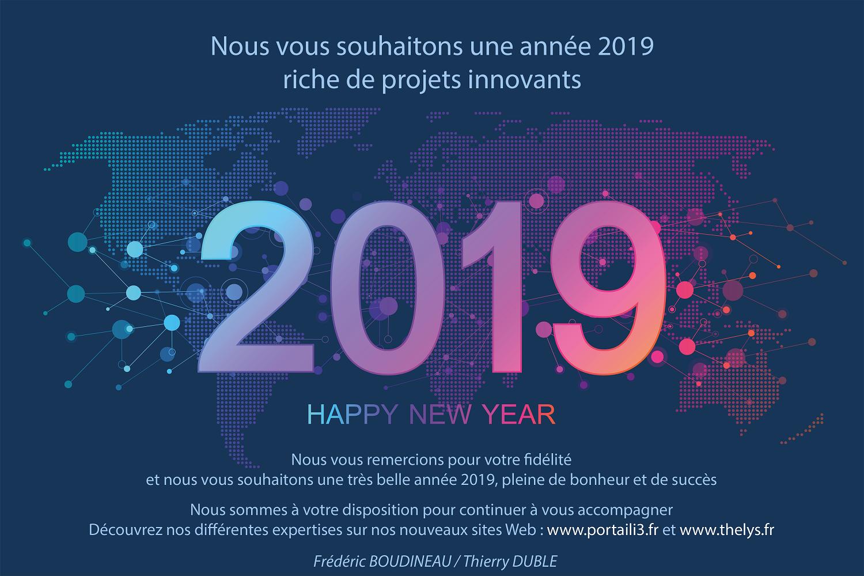 L'équipe THELYS vous souhaite une très bonne année 2019, riche de projets innovants.